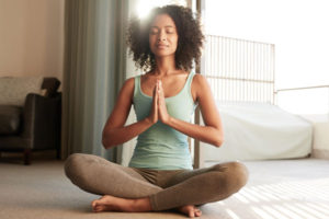 Meditating Yoga Woman